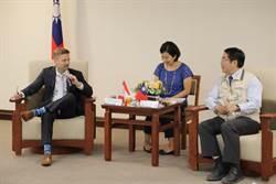 黃偉哲會見加拿大駐台代表 雙方9月在台南舉辦「加台創新交流年」