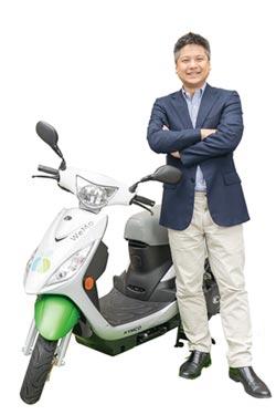 林之晨、吳昕霈 做大電動機車共享平台