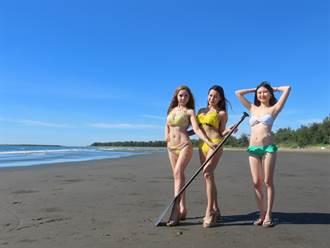 陽光沙灘比基尼 馬沙溝濱海遊憩區端午連假開園