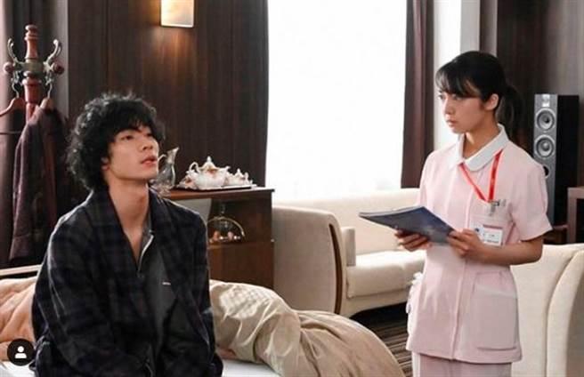 清原翔在《戀愛可以持續到天長地久》演出富二代病患。(翻攝自清原翔IG)