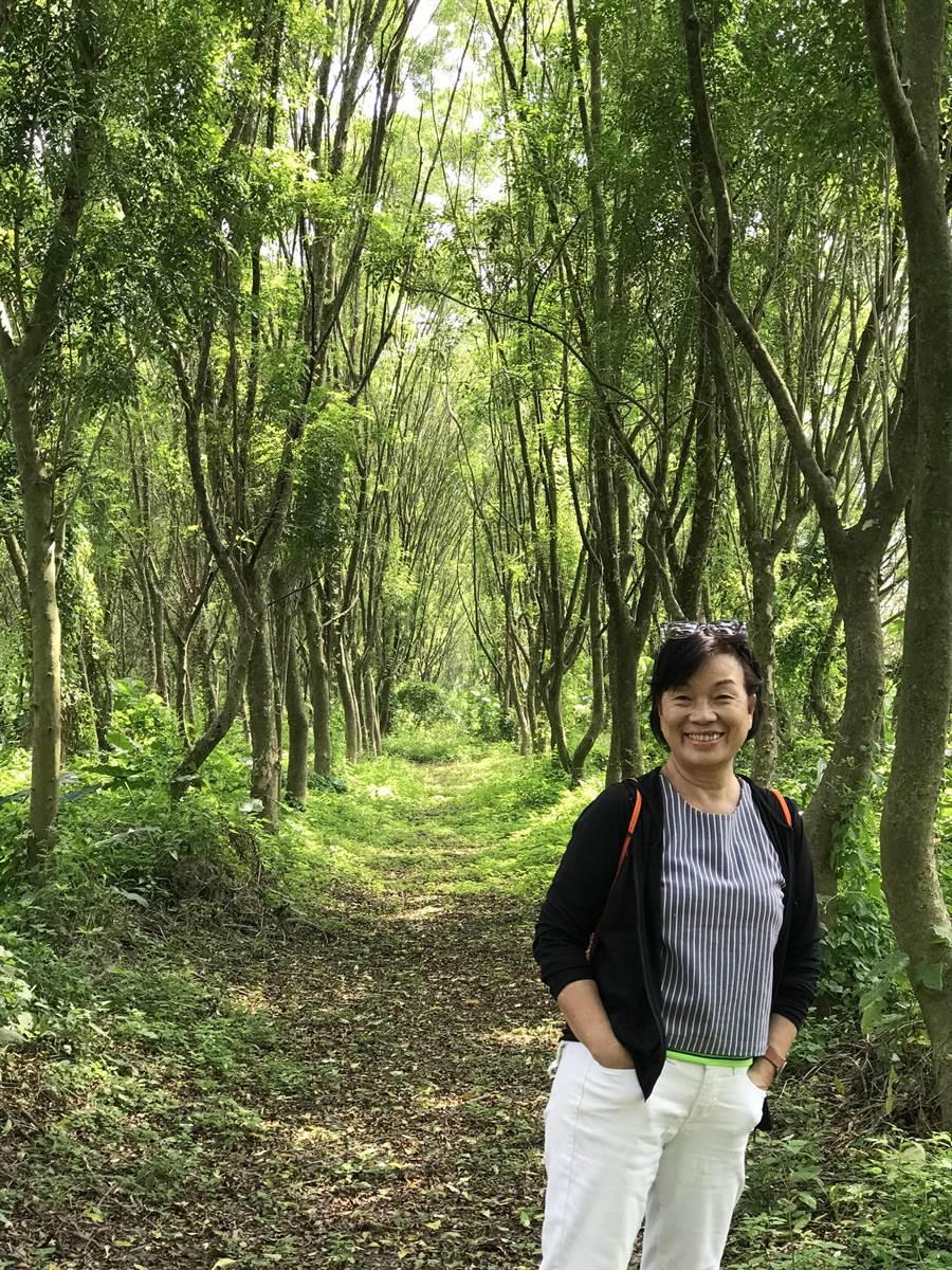 前文化部長龍應台七月將出版首部長篇小說《大武山下》。圖為陳啟蓓攝影。(時報出版提供)