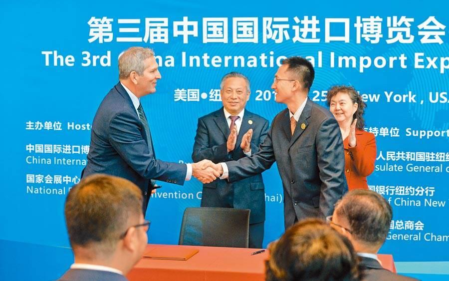 美國商會並敦促北京加快根據第一階段貿易協議採購美國商品和服務的步伐。圖/示意圖,新華社