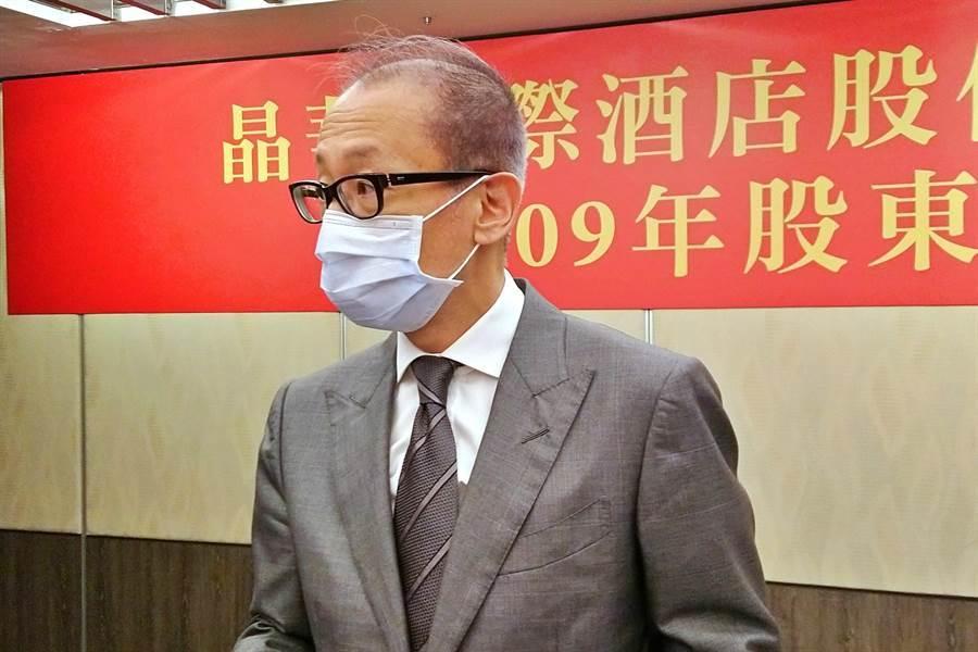 晶華國際酒店董事長潘思亮。(記者林資傑攝)