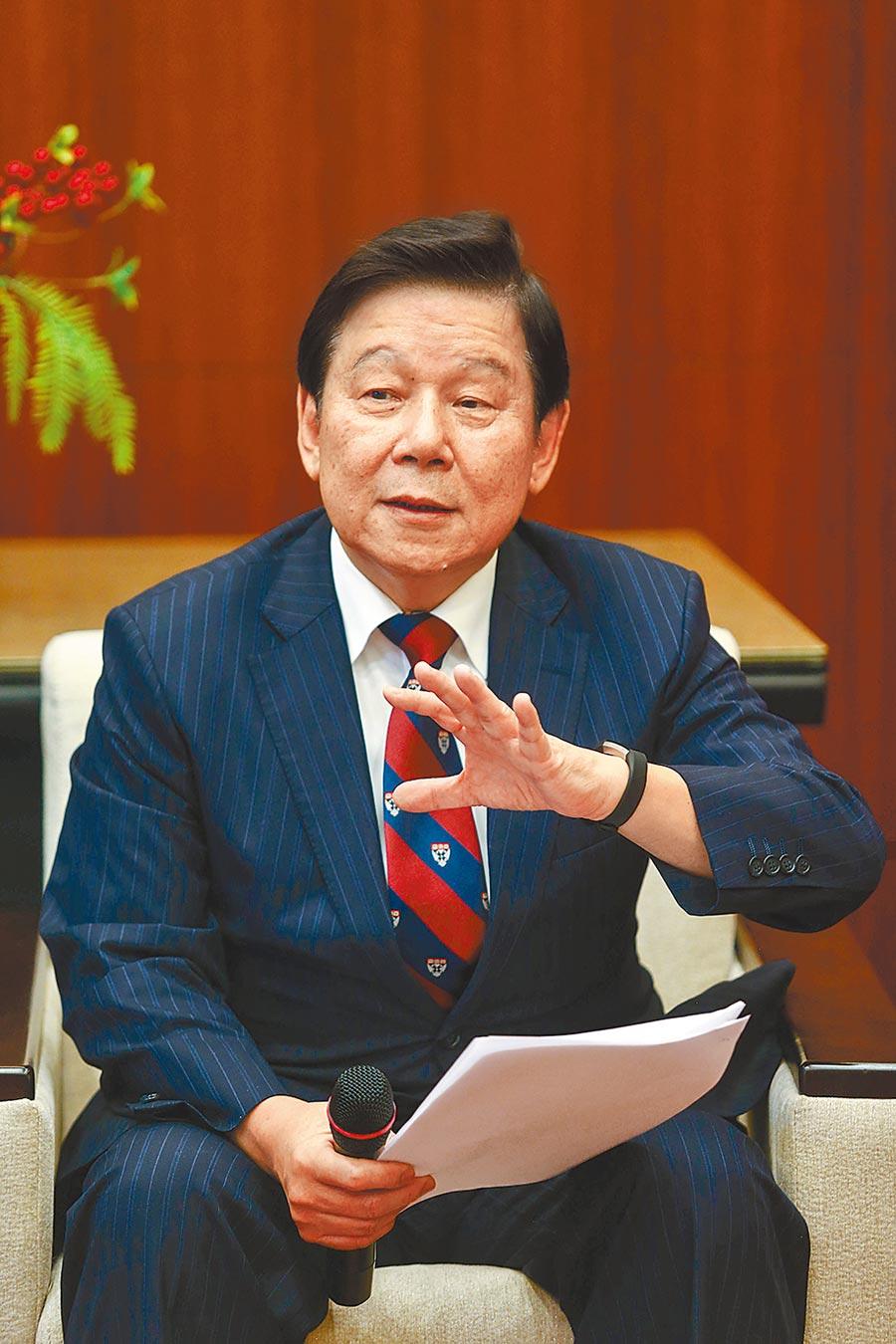 國票金董事長魏啟林。圖/本報資料照片
