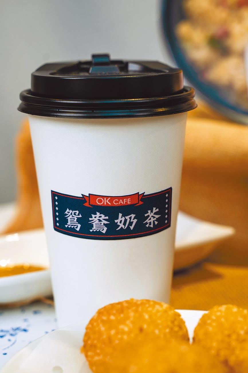 OK超商鴛鴦奶茶,65元。(OK提供)