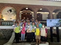 台南又有觀光新亮點!全球最大虎鯨裝置藝術 7月游進安平