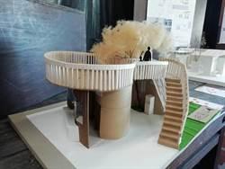 校園公廁設計  金大建築系同學揮灑創意