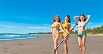 馬沙溝濱海遊憩園端午新開張 穿比基尼就免費入園