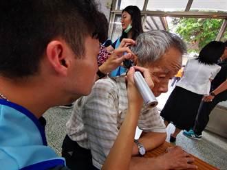 弘道守護聽力計畫到彰化 首場近九成長輩有聽損問題
