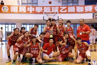 勇奪全國第6!水上國中女籃創新紀錄