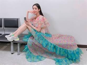 韓男團競演節目一結束 漏網鏡頭瘋傳…女神穿禮服化身清潔工