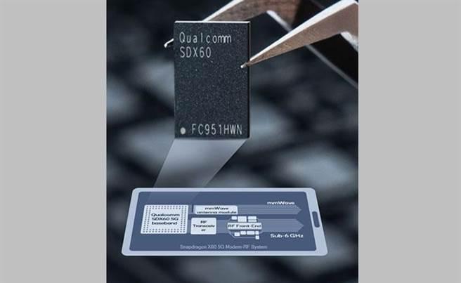 高通於 2020 年 2 月發表的 X60 基頻晶片,有望被 iPhone 12 系列採用?(摘自高通官網)