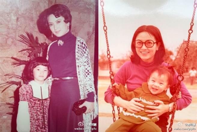 傅明憲的爸媽是香港知名演員傅奇和石慧。(圖/ 摘自傅明憲微博)