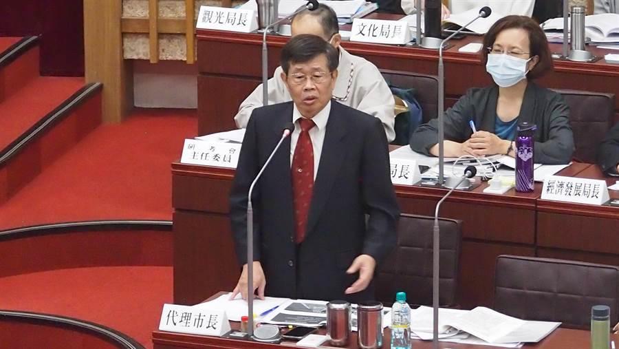 高雄巿代理巿長楊明州。(資料照,曹明正攝)