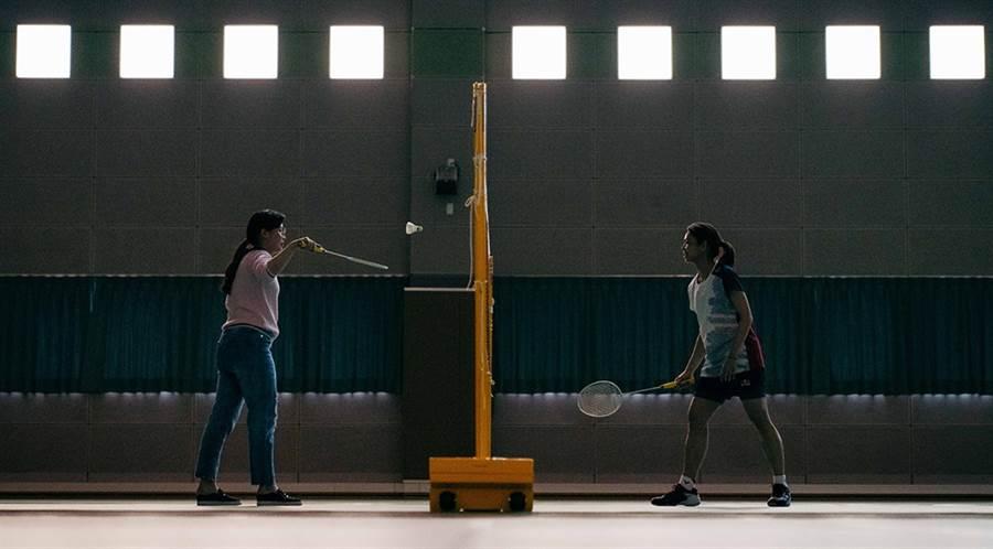 戴靖潔(左)與戴資穎姊妹從小一起打球長大。(Red Bull提供)