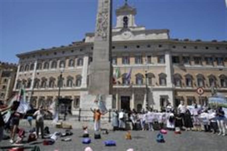 新冠病毒去年12月已出現在義大利。(美聯社)
