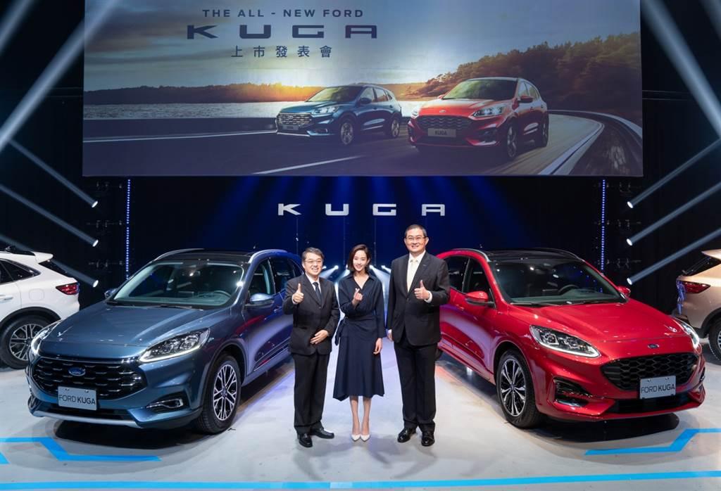 The All-New Ford Kuga正式在台上市,挑戰全級距配備最強,打造百萬內最先進、配備最完整之純正運動跑旅