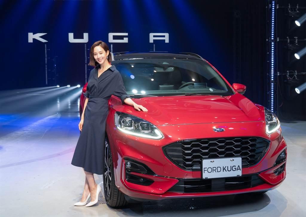 氣質女神張鈞甯擔任The All-New Ford Kuga廣告代言人,以「你,才是目的地」詮釋The All-New Ford Kuga陪伴車主共同追尋與刻畫的品牌精神