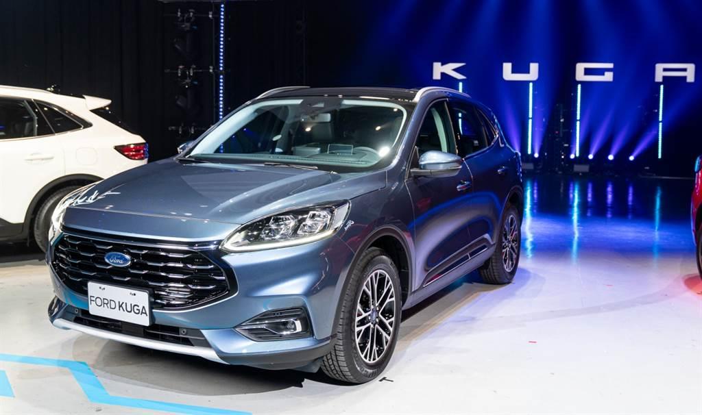 The All-New Ford Kuga EcoBoost180旗艦型正式售價106.9萬,滿足各種輕奢享受,帶來細膩、簡約,以及更具豪華感受的乘坐體驗