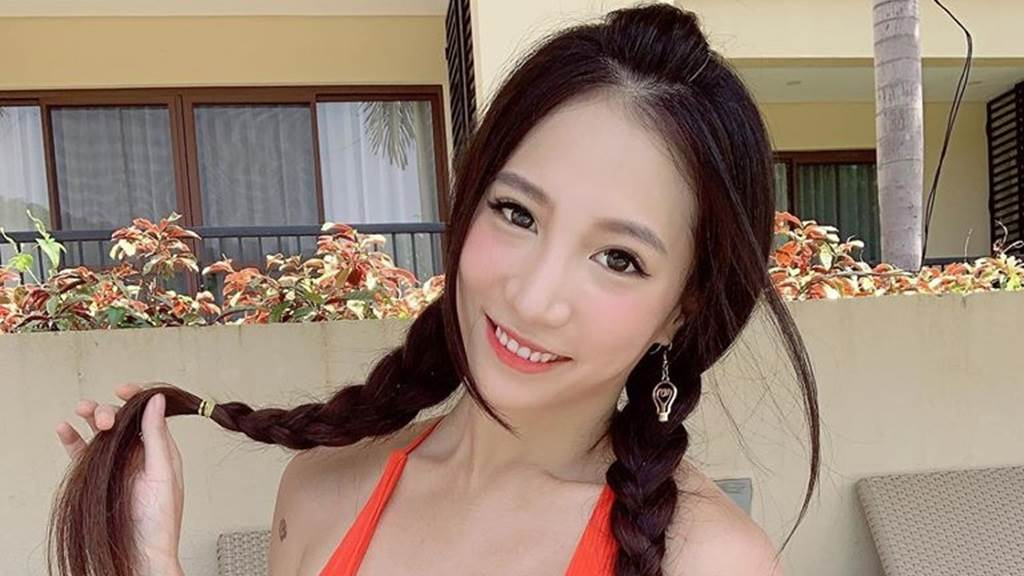 林采緹臉蛋甜美、身材火辣。(圖/IG@sunnylin_520)