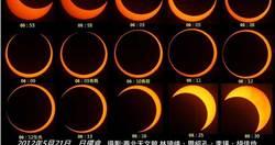 天文奇景日環食6/21再現 全台各地觀測時間一覽