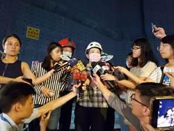 京華城坍塌工人疑受困  黃珊珊親赴現場關心