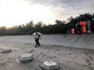 女嬰遭套袋埋沙灘 狠心父母遭聲押禁見