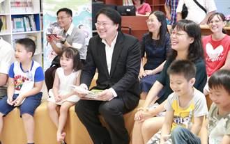 基隆18處社區共讀站年底完工 林右昌盼啟發幼童閱讀習慣