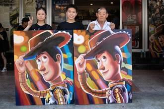 國寶級電影看板繪師授課 南大生挑戰「玩具總動員4」