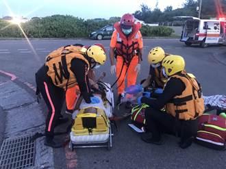 男子竹圍漁港溺水 獲救時已無生命跡象