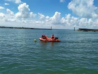 東石漁人碼頭水域救援訓練 提升水上救援戰力
