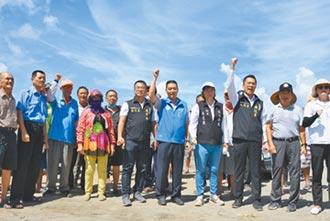 雲縣風力發電機設太近 村民抗議