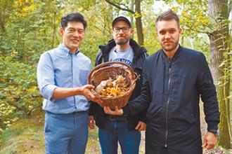 王凱傑採蘑菇新鮮現嘗