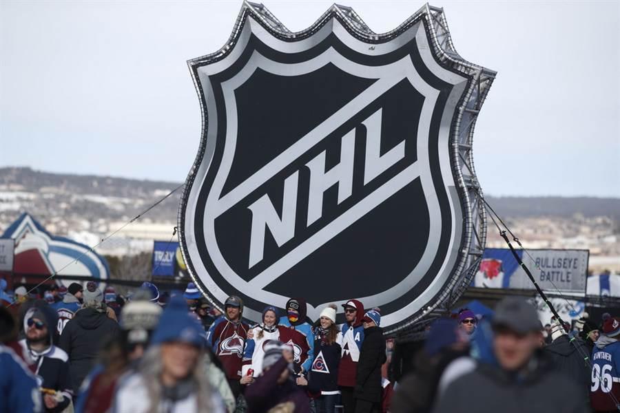 隨著官方宣布11名球員確診,NHL能否如期復賽受到不小考驗。(美聯社)