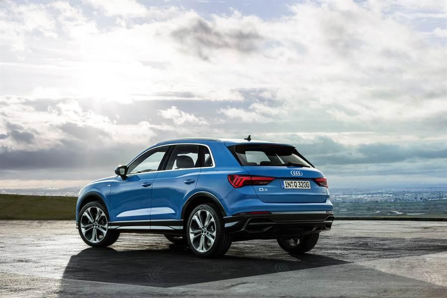 The new Audi Q3從細節展現品味