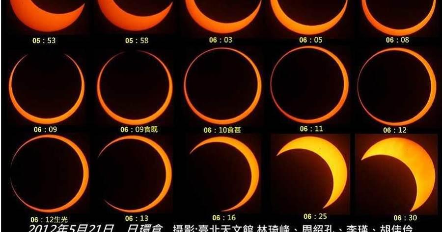 下次可大範圍台灣的日環食,可要等到將近200年之後的2215年。(圖/臺北市立天文科學教育館)