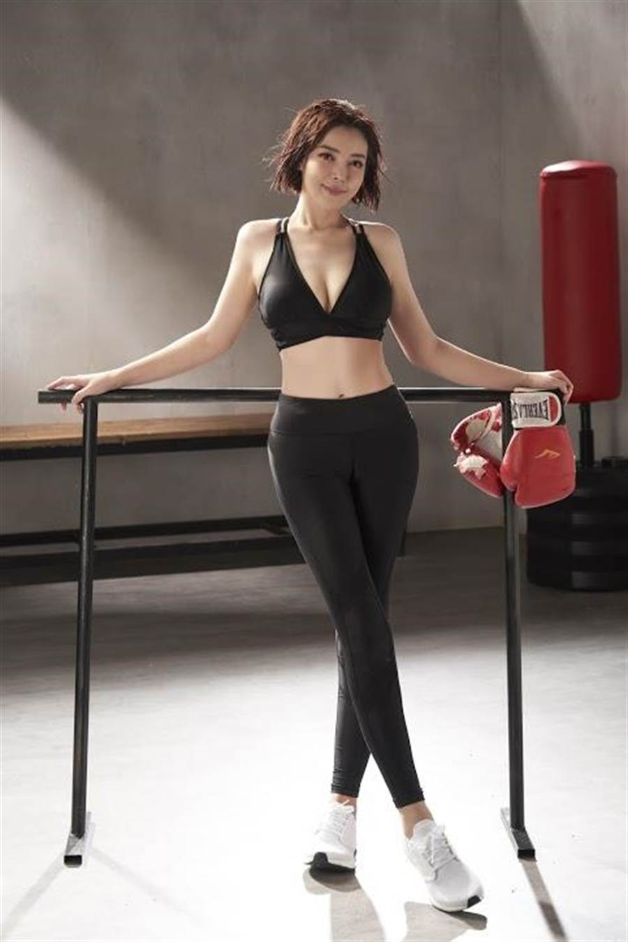 趙心妍現在比小學的時候還瘦。(Ivenor提供)