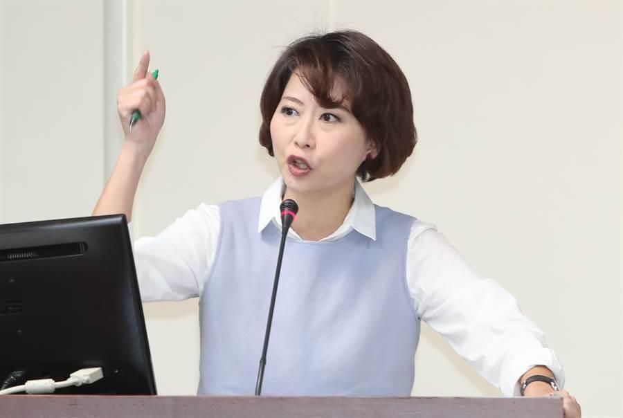 民進黨立委陳亭妃。(中時資料照)