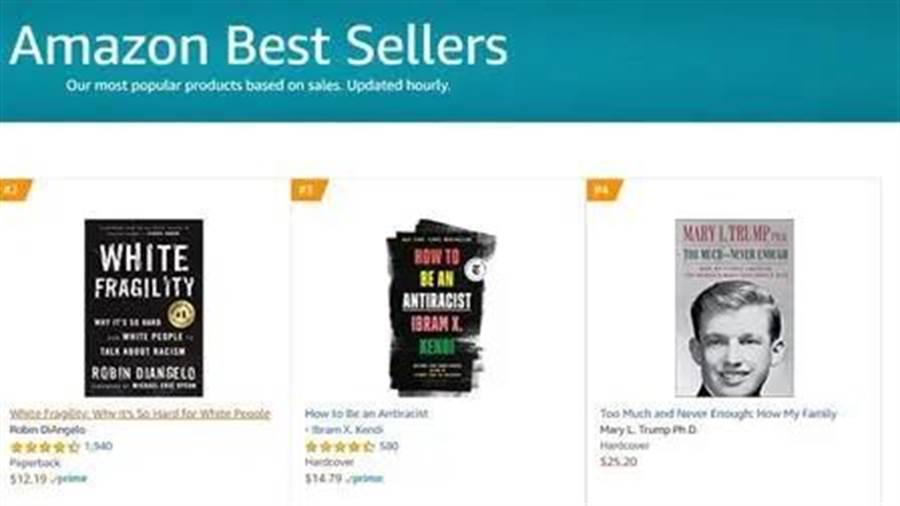 波頓與瑪麗的新書登上亞馬暢銷書排行榜。(取自網路)
