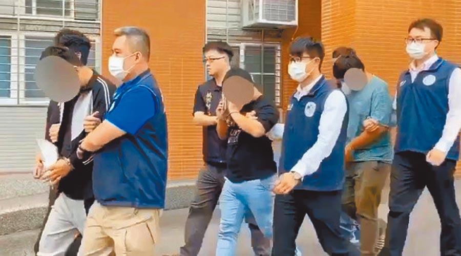 移民署國境事務大隊19日宣布破獲跨境人蛇集團,並拘提逮捕6名幕後主嫌及幹部。(移民署提供)
