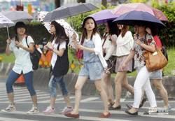 周一飆36度高溫 氣象局曝光端午連假2波雨區變化