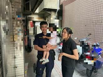 3岁女童偷跑出门 艳阳下警挨家挨户帮返家