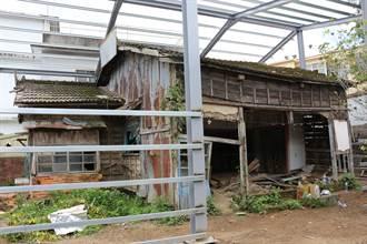 保護獅潭庄長宿舍 客委會補助棚架工程預計7月初完工