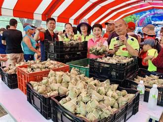 山皮里慶端午 里長發送上千顆粽子