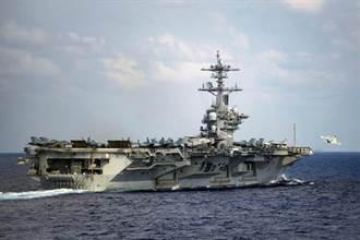 美國罕見出動三航母戰鬥群意在警告陸