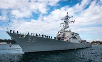撞船事故3年後 美軍馬侃號驅逐艦完成修復