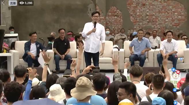 前行政院副院長陳其邁。(摘自民進黨臉書)