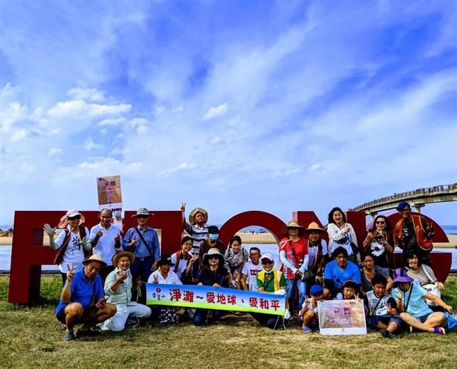 靈鷲山結合福容飯店「2020年福隆國際沙雕藝術季」,雙方首次合作自發性加入守護海岸、福隆造鎮行列。(靈鷲山提供)