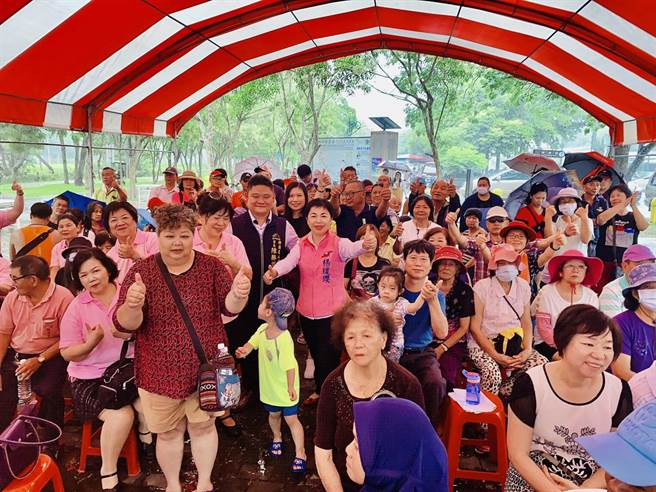 山皮里舉辦慶端午及兒童公園啟用典禮,吸引許多民眾熱情參與。(里長陳勝泧提供/陳淑娥台中傳真)