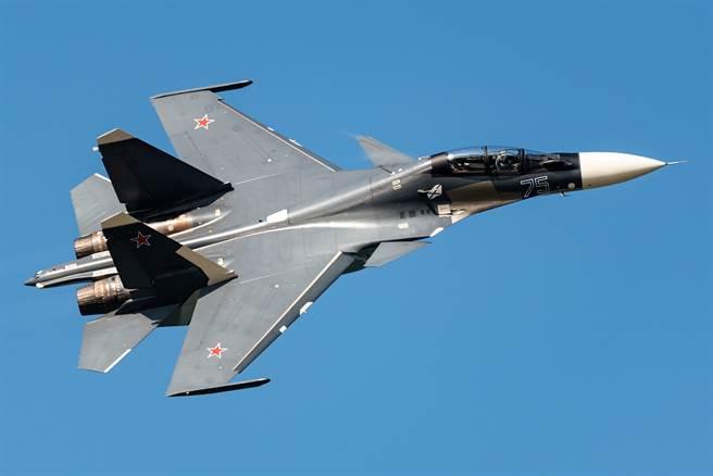在中印爆發邊境流血衝突後,盛傳新德里將採購21架米格(MiG)-29和12架蘇(Su)-30戰機(見圖)。(達志影像/Shutterstock)
